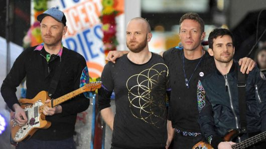 Coldplay On Course For Their Ninth UK No 1 Album