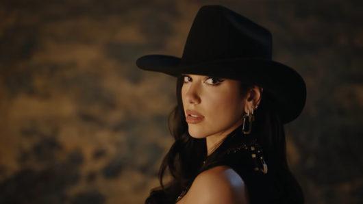Dua Lipa Hits The Rodeo In New 'Love Again' Video