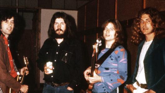 Photographer Ross Halfin's Led Zeppelin Art Book Set For Publication
