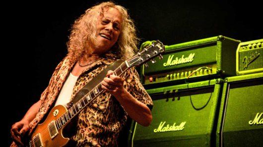 Kirk Hammett Talks Writing 'Enter Sandman' Riff
