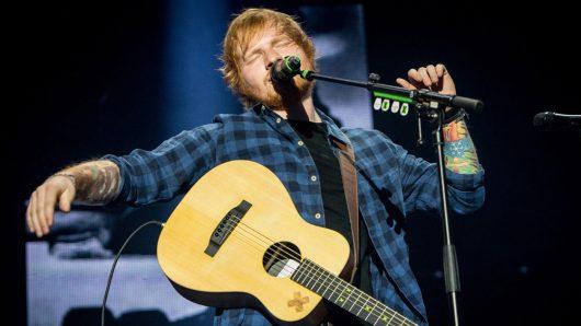Ed Sheeran Performs Intimate Show To Mark HMV's 100th Birthday